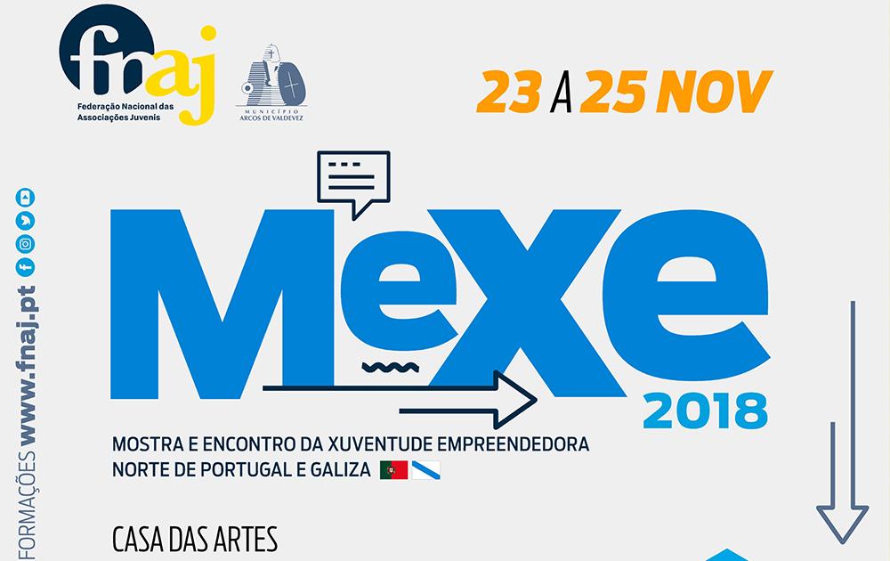 INSCRIÇÕES MEXE Mostra e Encontro Xuvenil Empreendedora Norte de Portugal e Galiza