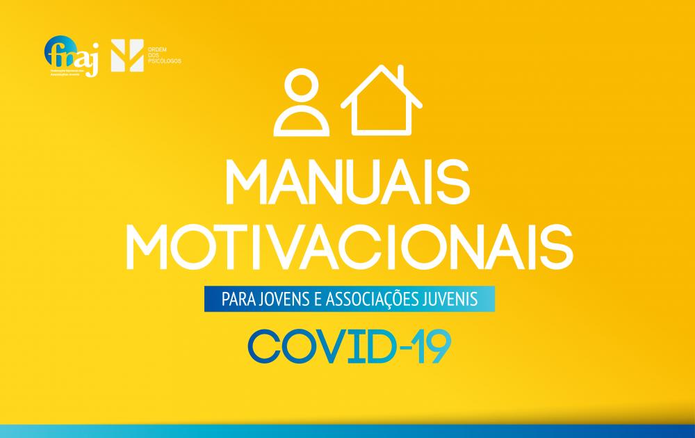 Manuais Motivacionais para Jovens e Associações Juvenis | COVID-19