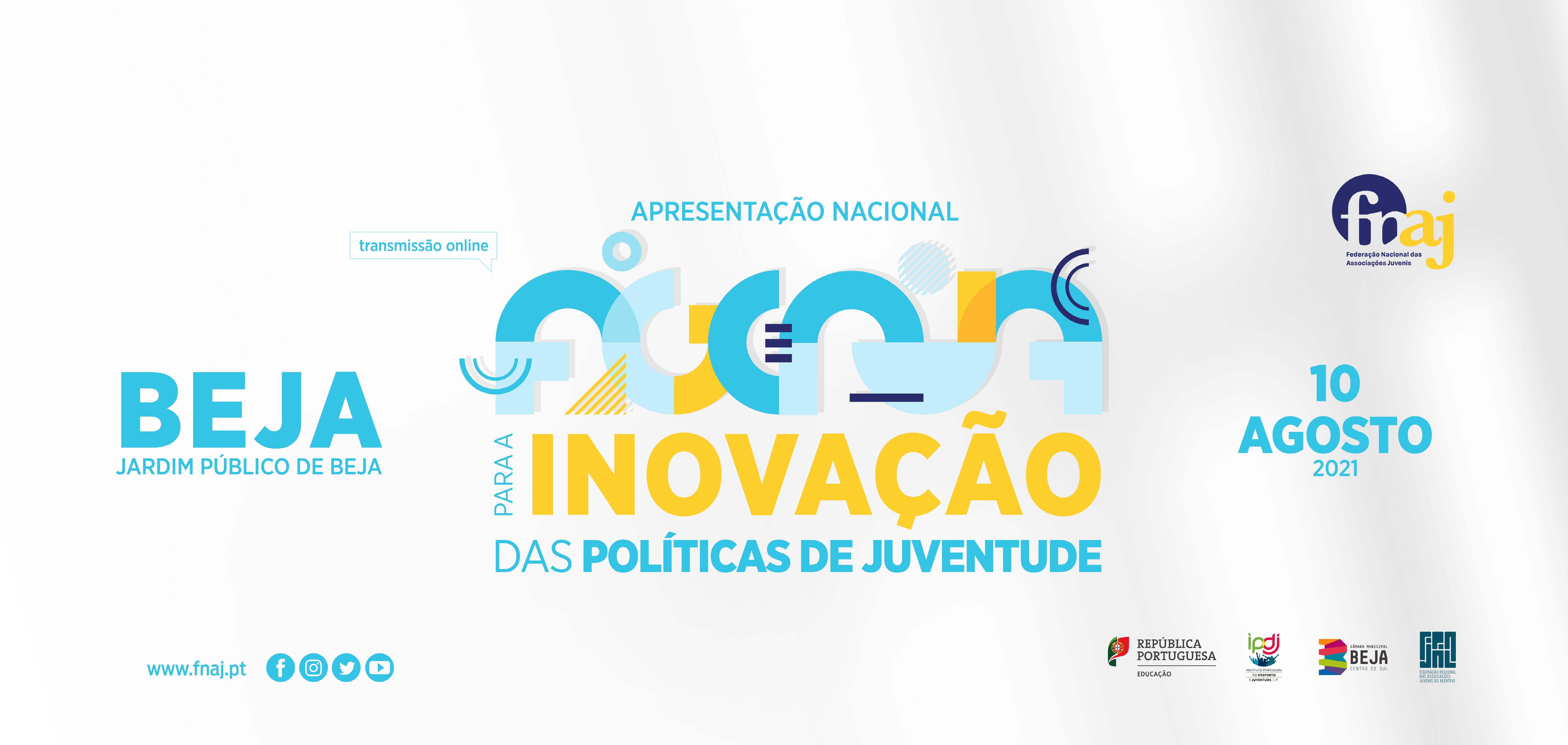 Apresentação Pública da Agenda para a Inovação das Politicas de Juventude